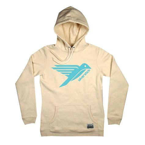 womens organic cotton lancelin logo hoodie