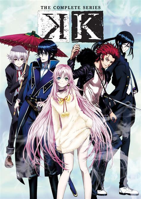 K Anime by Viz The Official Website For K