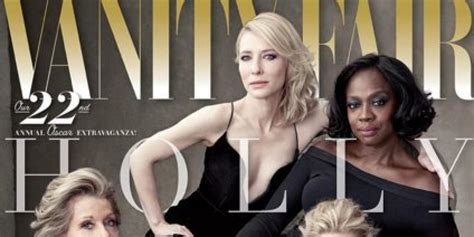 vanity fair cover shows diverse cast of actresses