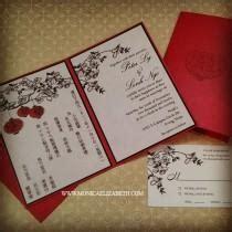 custom wedding invitations dallas asian wedding weddbook