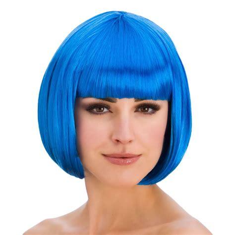 80s bob hairstyle ladies diva short hair bob wig fringe fancy dress