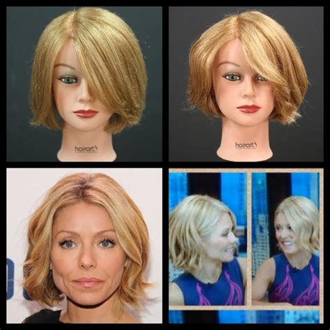 how do they curl kelly rippas hair kelly ripa new bob haircut tutorial thesalonguy youtube