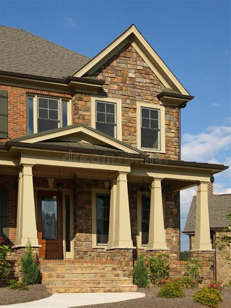house exterior royalty free stock image image 9586736 luxury model home exterior column entrance royalty free