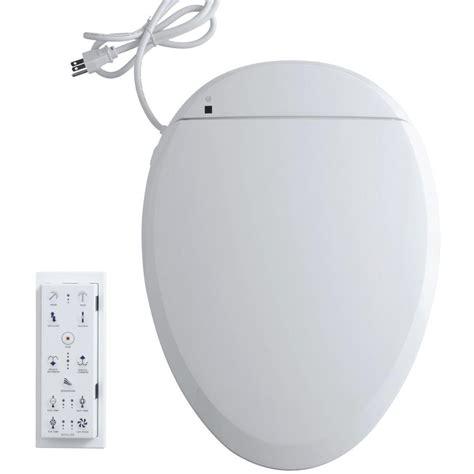 Bidet Toilet Seat Attachment Home Depot mrs bidet spray attachment for toilet in white 1301 the home depot
