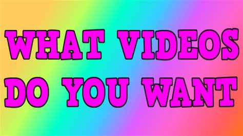 what do you expect to see on a good personal portfolio website link what videos do you want to see from me youtube