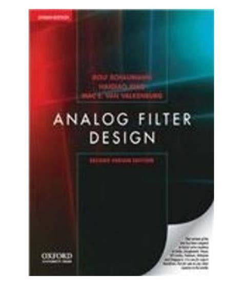 emi filter design third edition books analog filter design indian 2 ed buy analog filter