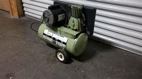 lot 103 sears 1 2 hp air compressor wirebids