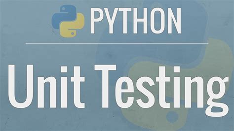 Python Tutorial Unit Testing Your Code With The Unittest | python tutorial unit testing your code with the unittest