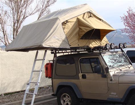 arb series iii rooftop tent with add on room