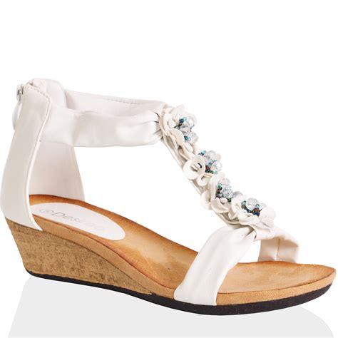Wedge Heel Sandals white sandals wedge heel www imgkid the image kid