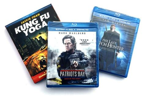 4k A Day Giveaway - blu ray giveaway 3 movie action pack w patriots day hd report