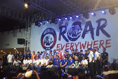 Jersey Arema Fc arema fc luncurkan tim dan jersey terbaru republika