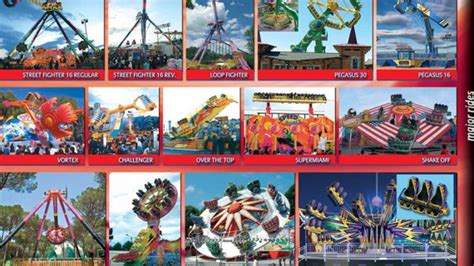 theme park names list names of carnival rides www pixshark com images