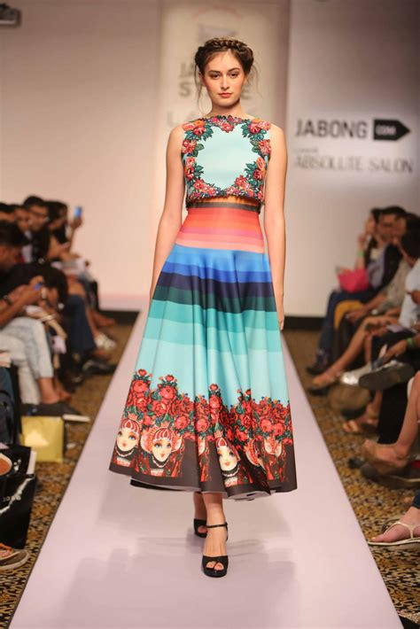 Fashion Week What On Earth Do I Wear by Summer Dresses From Lakme Fashion Week Summer 2015