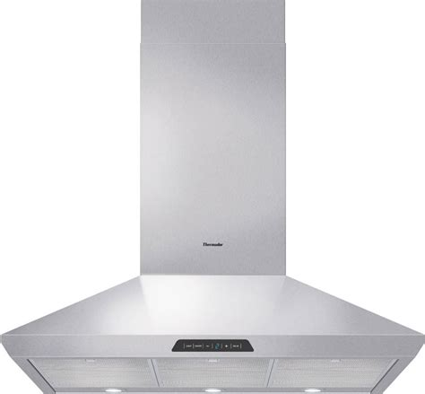 thermador vent hood light bulb thermador hmcn36fs wall mount chimney range hood with