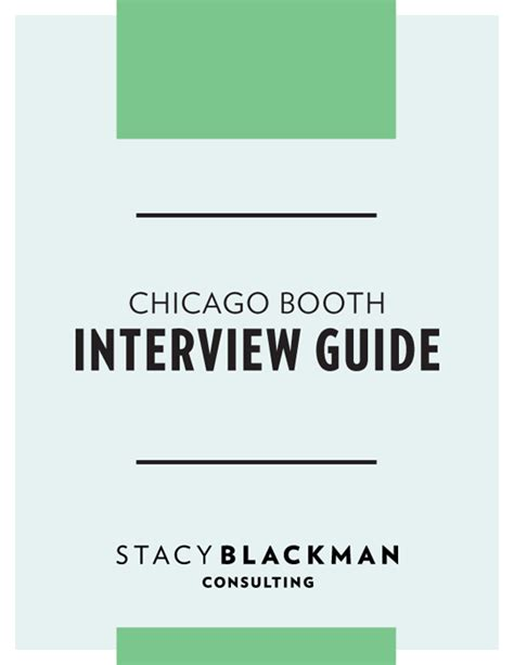 Adammarkus Chicago Booth Mba Admission Interviews by Chicago Booth Guide Blackman Consulting