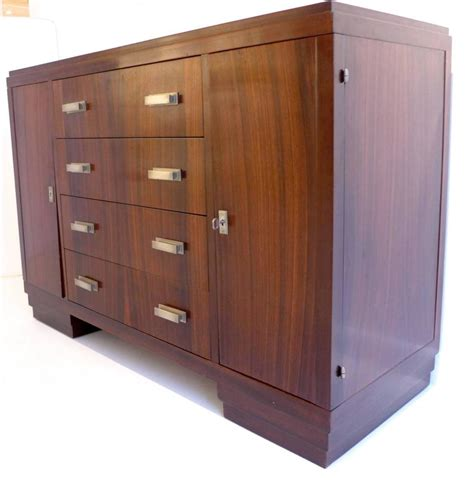 Macassar Cabinets deco cabinet in macassar for sale at 1stdibs