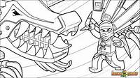 Ninjago Coloring Pages Cole