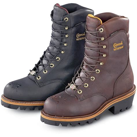 chippewa logger boots chippewa 174 waterproof 400 gram thinsulate 174 ultra insulation