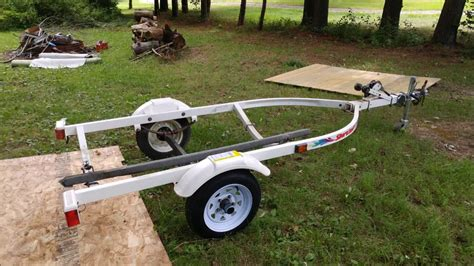 replacing boat trailer rollers with bunks replacing bunks on 1996 shoreland r jet ski trailer