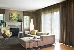 Modern and sophisticated family room interior design of glam couple by