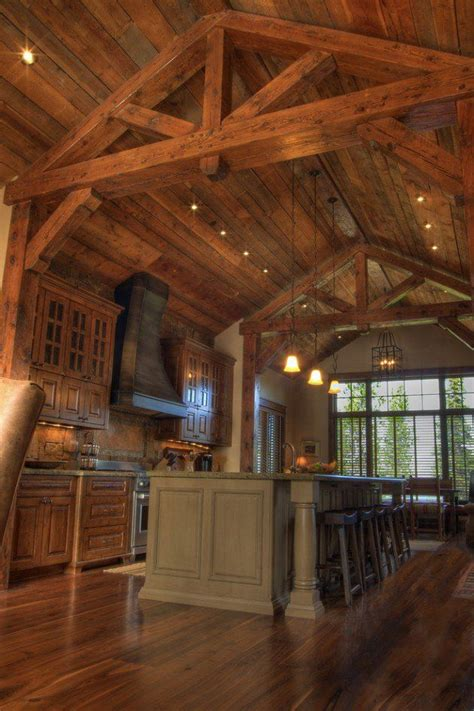 15 warm cozy rustic kitchen designs for your cabin 176 best images about all wood interiors on pinterest