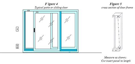 Sliding Glass Dog Door   Pet Door for Sliding Glass Door