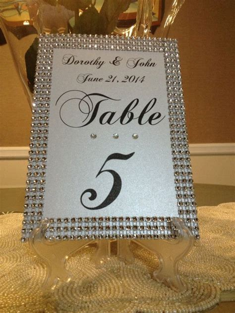 table number cards for wedding reception table numbers by the event the event weddings