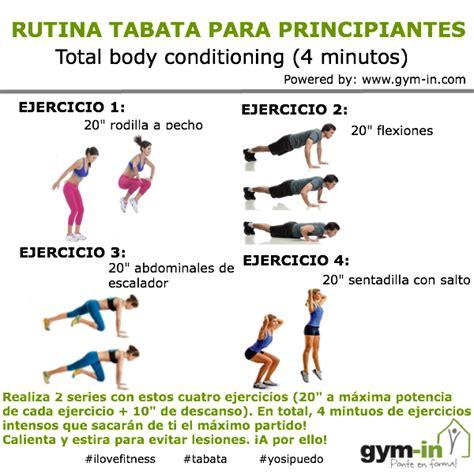 plan de ejercicios para adelgazar en casa rutina tabata para bajar de peso en menos tiempo gym in