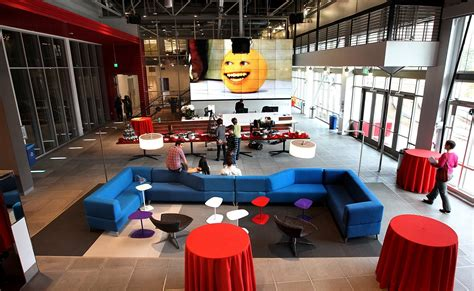 youtube offices youtube space in playa vista la times