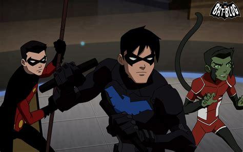 imagenes de nightwing de justicia joven imagen young justice nightwing robin wallpaper jpg