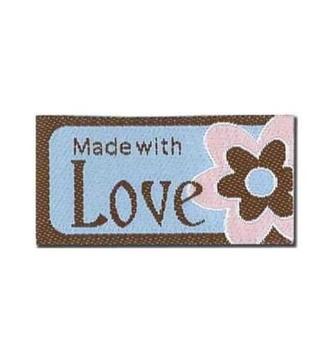 made with love labels la mode iron on labels lovelabels made with love bl