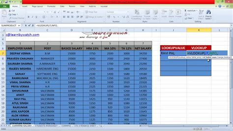 hlookup excel 2010 tutorial pdf how to use vlookup and hlookup in excel 2007 pdf how to