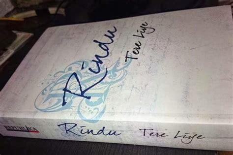 Buku Novel Rindu Tere Liye Republika Yi resensi novel tere liye rindu juara lomba resensi