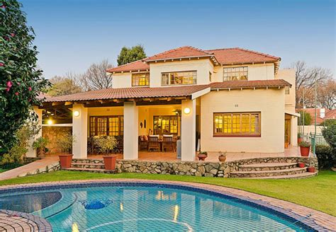 Pool Guest House Plans by Avondhu Guest House In Saxonwold Gauteng