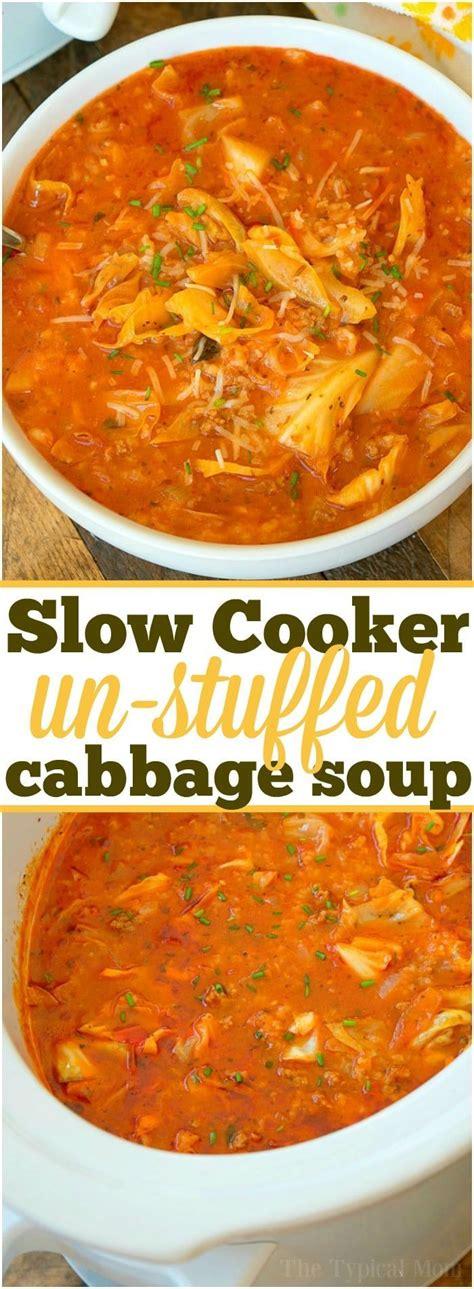 Crock Pot Cabbage Detox Soup by Best 25 Cabbage Soup Ideas On Ww Cabbage Soup