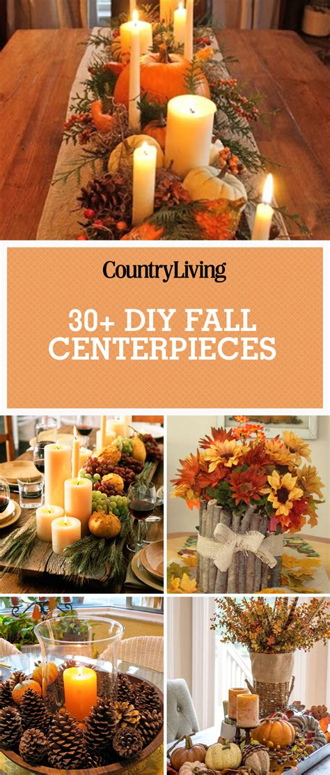 simple fall table decoration ideas 38 fall table centerpieces autumn centerpiece ideas