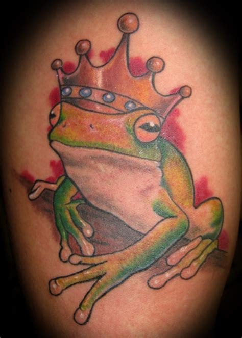 cartoon frog tattoo designs design frog tattoos