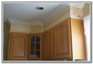 crown moulding above kitchen cabinets cabinet best remodelaholic big kitchen makeover on a little budget