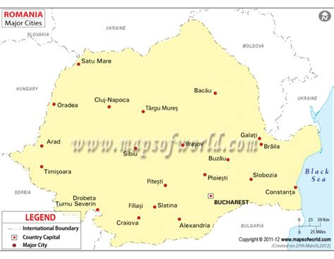 romania map with cities buy map of romania with cities