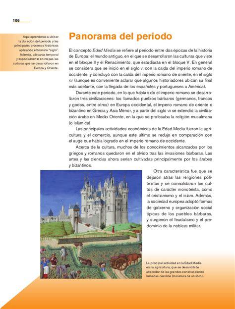 libro de vidas ajenas panorama panorama del periodo del libro de historia de quinto newhairstylesformen2014 com