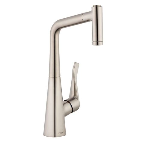 hansgrohe talis kitchen faucet hansgrohe talis spray higharc kitchen faucet pull single