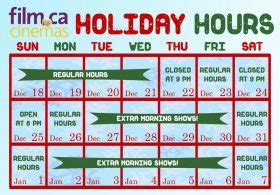 cineplex holiday hours events archives film ca cinemas in oakville on