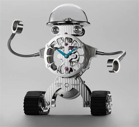 Robot Desk L by Sherman The Luxury Robot Clock By Mb F And L Epee 1839