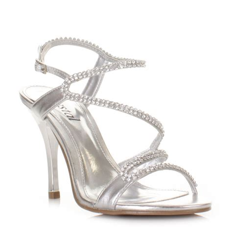 silver heels for wedding silver sandal heels for wedding 28 images wedding
