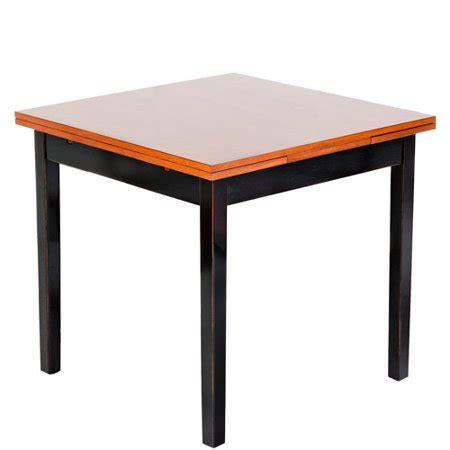 imagio home  piece arlington refectory dining set black