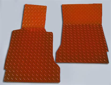 Orange Floor Mats For Cars by C6 Corvette Orange Plate Floor Mats 041003