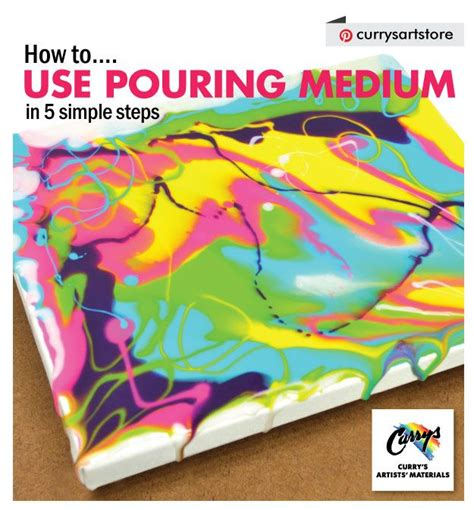 acrylic paint how does it take to how to use pouring medium in 5 simple steps acrylic