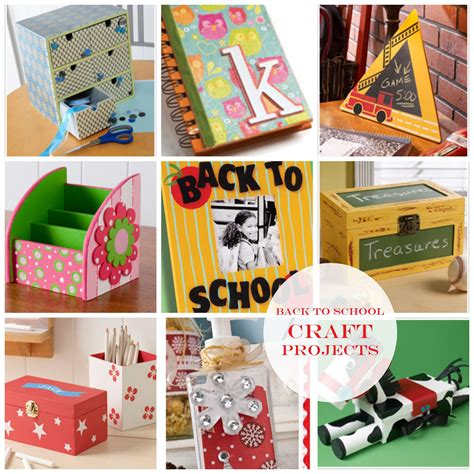 diy projects crafts back to school craft project ideas diy crafts