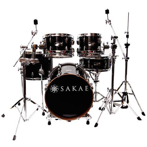 Harga Drum Sakae Pac D sakae pac d gloss black compact plus drumset 171 drum kit